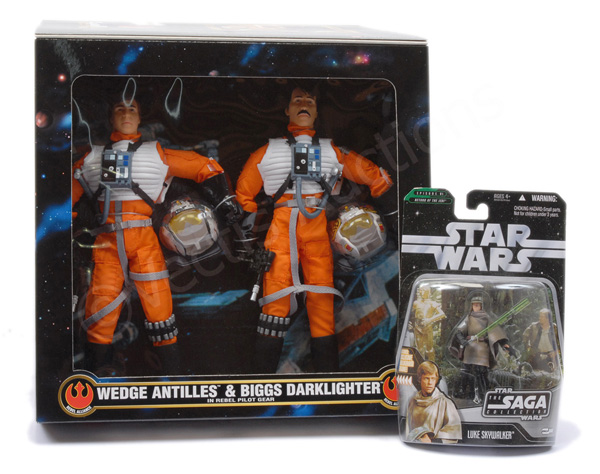 PAIR inc Kenner and Hasbro Star Wars figures
