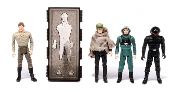 GRP inc Palitoy/Kenner Star Wars four x last