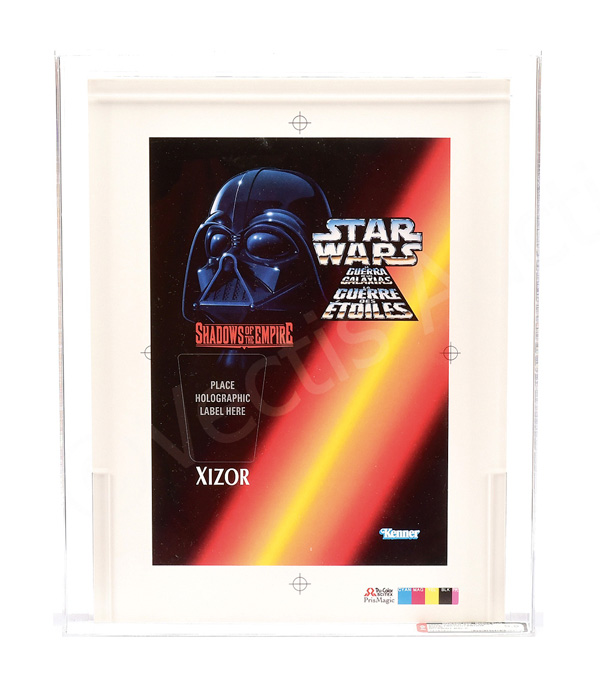 Kenner Star Wars SOTE 1996 Tri-logo proof Xizor