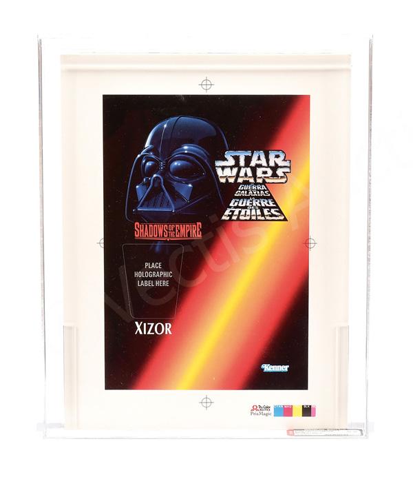 Kenner Star Wars SOTE 1996 Tri-logo proof Xizor