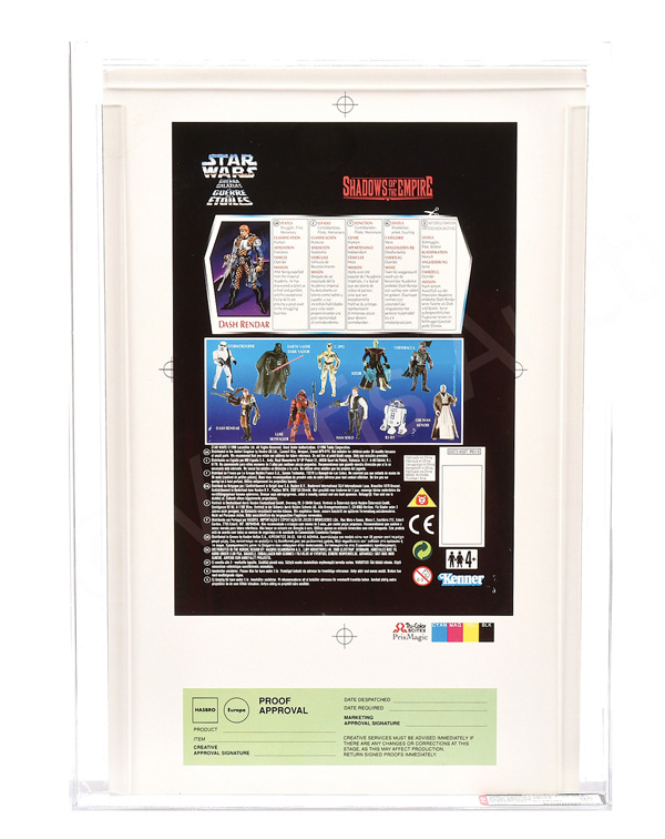 Kenner (Europe) Star Wars SOTE 1996 Tri-logo