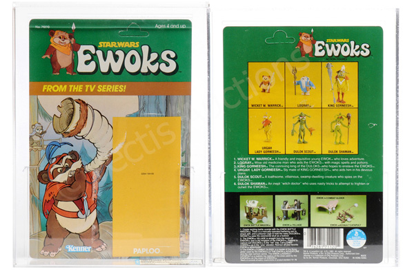 Kenner Star Wars Ewoks Series 2 Paploo sales