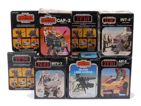 GRP inc Palitoy/Kenner Star Wars vintage toys