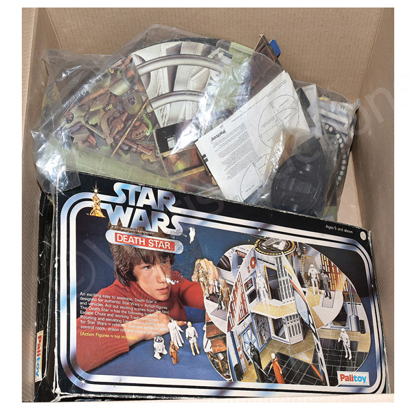 Palitoy Star Wars Death Star Play Situation