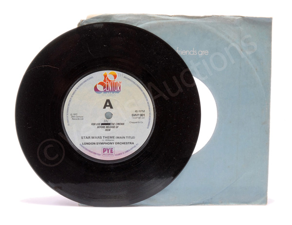 20th Century Records Star Wars promotional 45rpm