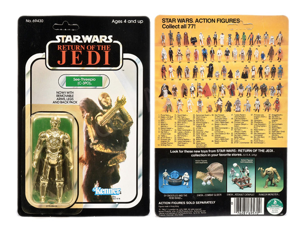 Kenner Star Wars Return of the Jedi See-Threepio