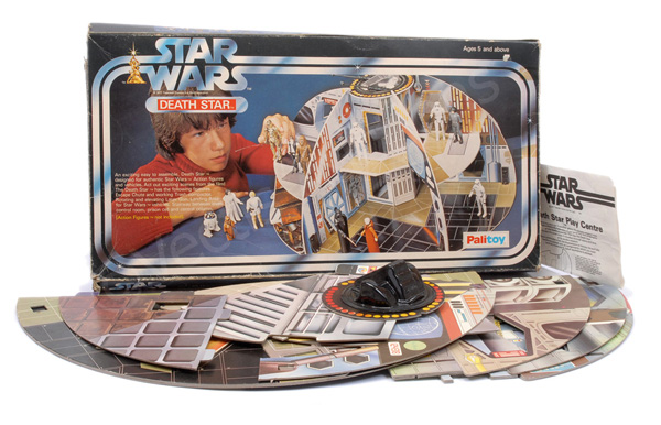 Palitoy Star Wars vintage Death Star Play