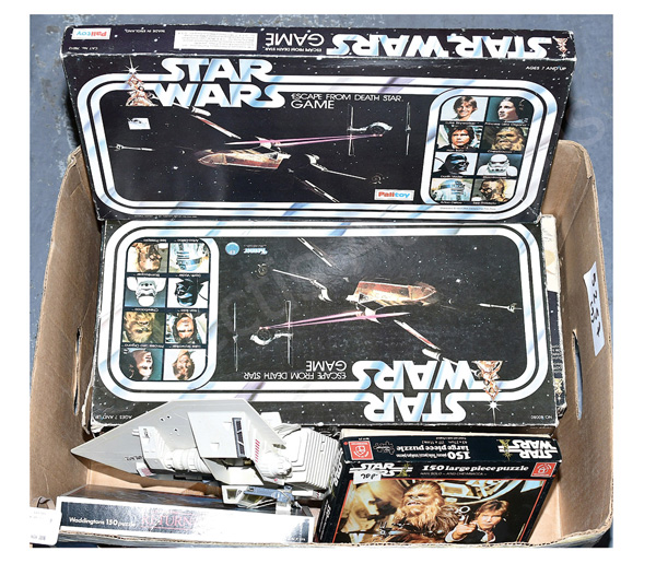 GRP inc Star Wars vintage toys and games