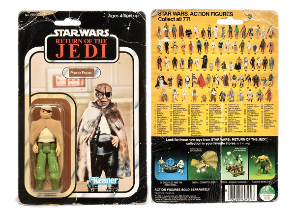 Kenner Star Wars Return of the Jedi Prune Face