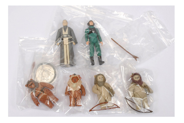 GRP inc Palitoy/Kenner six vintage 3 3/4
