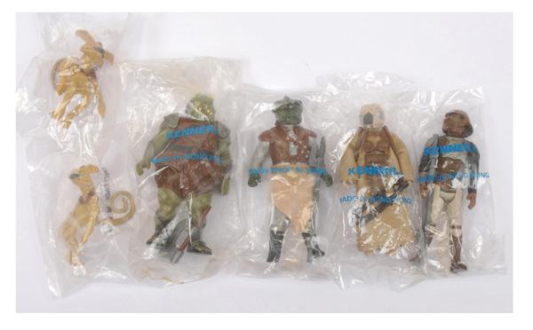GRP inc Palitoy/Kenner six x baggies