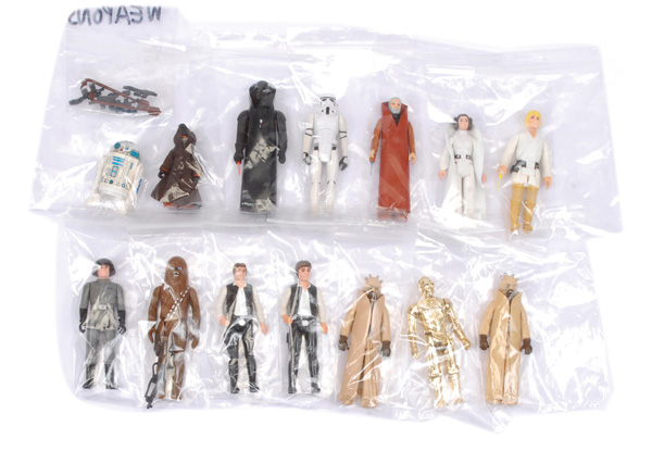 GRP inc Palitoy/Kenner Star Wars original twelve