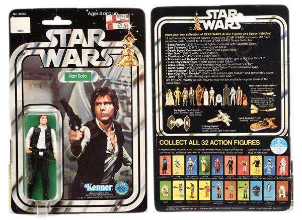 Kenner Star Wars Han Solo (small head) 3 3/4