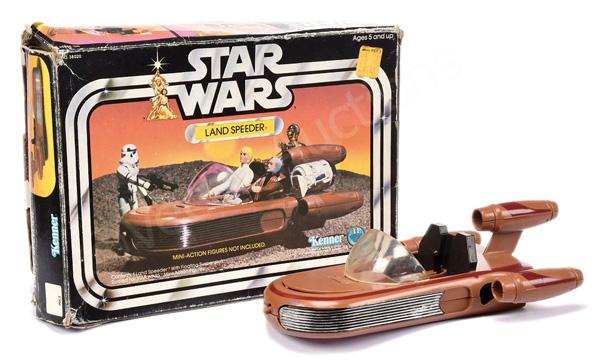 Kenner Star Wars Land Speeder, Good, with inner