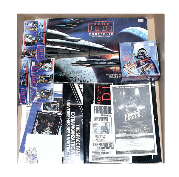 QTY inc Star Wars vintage ephemera: HC Ford