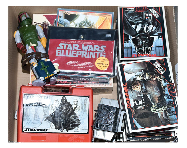 QTY inc Star Wars vintage toys and games: Boba