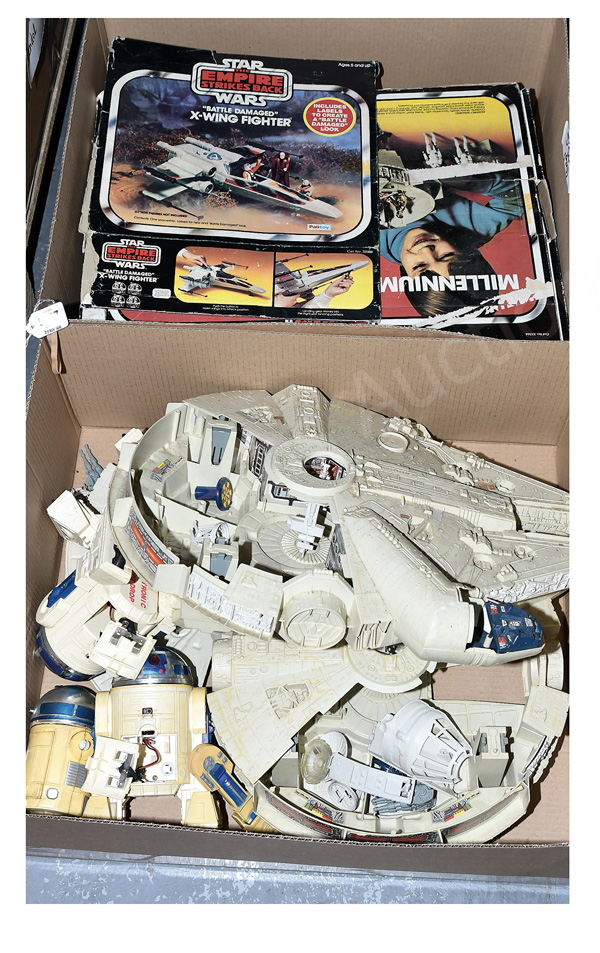 QTY inc Palitoy/Kenner Star Wars vintage toys