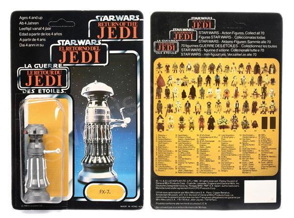Star Wars Return of the Jedi Tri-Logo FX-7