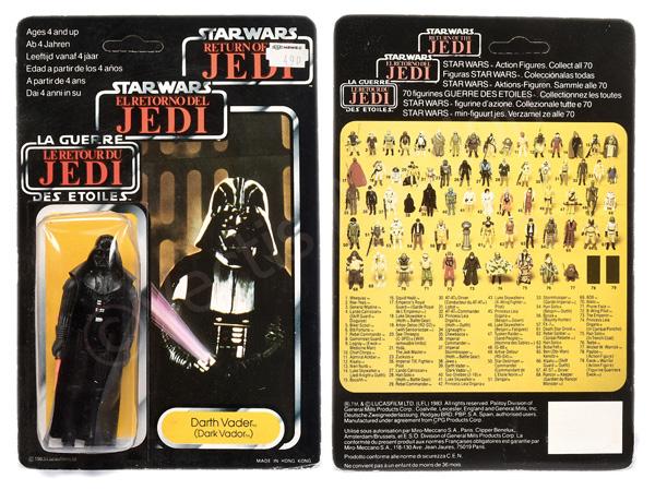 Star Wars The Return of the Jedi Tri-logo Darth