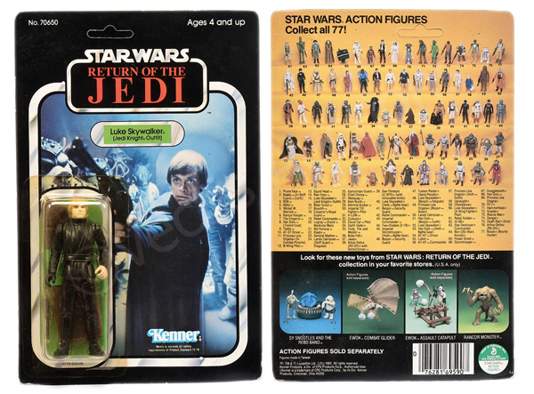 Kenner Star Wars Return of the Jedi Luke