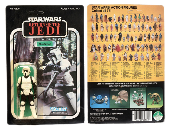 Kenner Star Wars Return of the Jedi Biker Scout