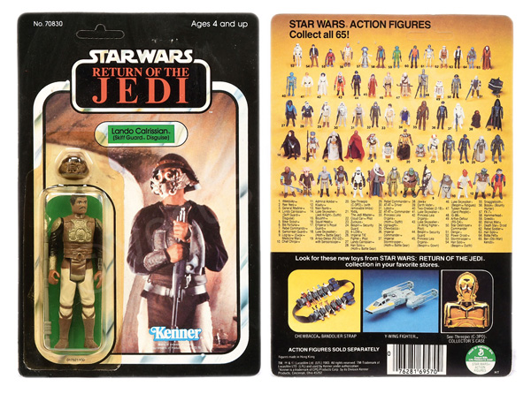 Kenner Star Wars Return of the Jedi Lando