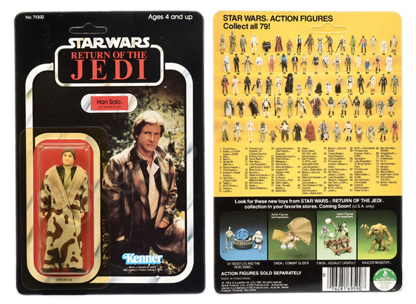 Kenner Star Wars Return of the Jedi Han Solo (In