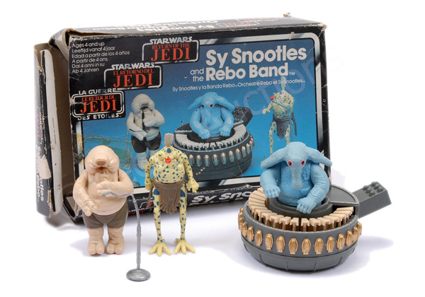 Tri-logo vintage Sy Snootles and the Rebo Band