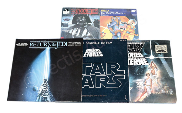 GRP inc Star Wars vintage vinyl records