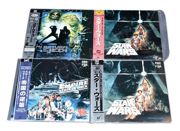 GRP inc Yamano (Japan) CBS Fox Star Wars four
