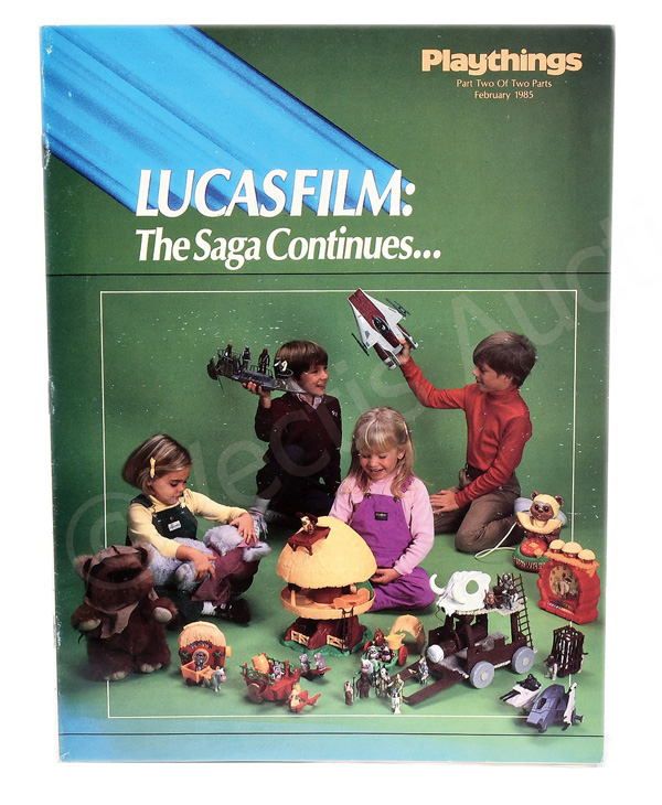 Lucasfilm Playthings magazine, Part Two of Two