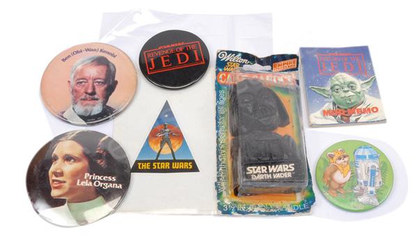 GRP inc Star Wars vintage ephemera: Genuine