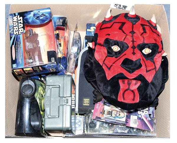 QTY inc Hasbro/Kenner modern Star Wars toys