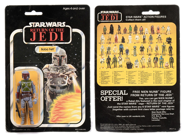 Palitoy/Meccano/General Mills Star Wars Return