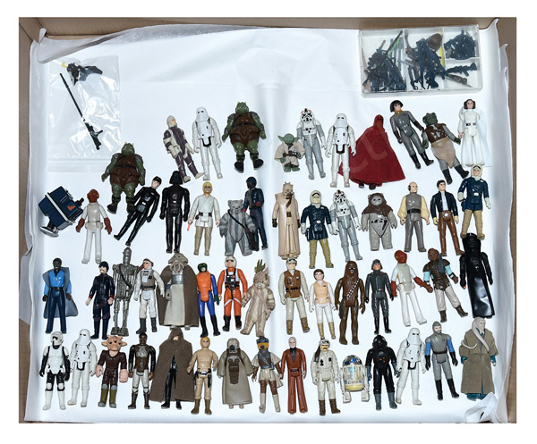 GRP inc Palitoy/Kenner Star Wars 3 3/3