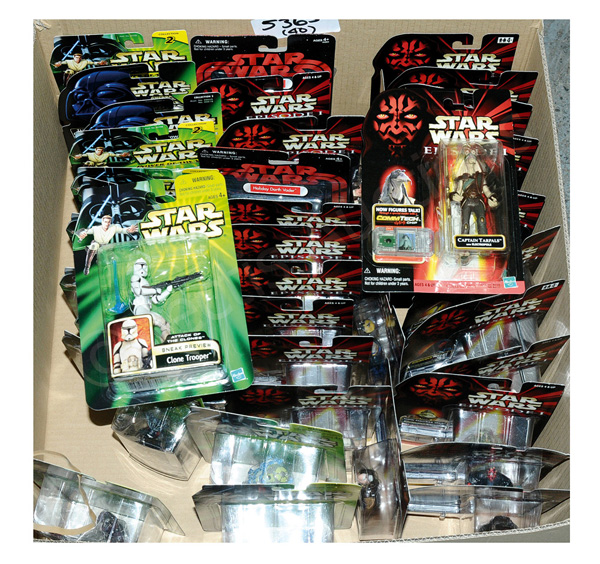 GRP inc Kenner/Hasbro Star Wars 3 3/4