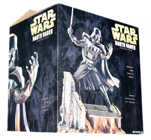 Hasbro Star Wars Darth Vader Cold Cast Statue