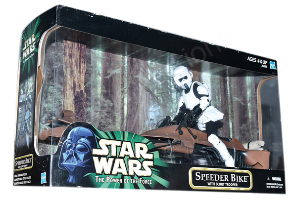 Hasbro Star Wars Power of the Force II Speeder