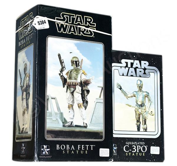 PAIR inc Gentle Giant Star Wars statues