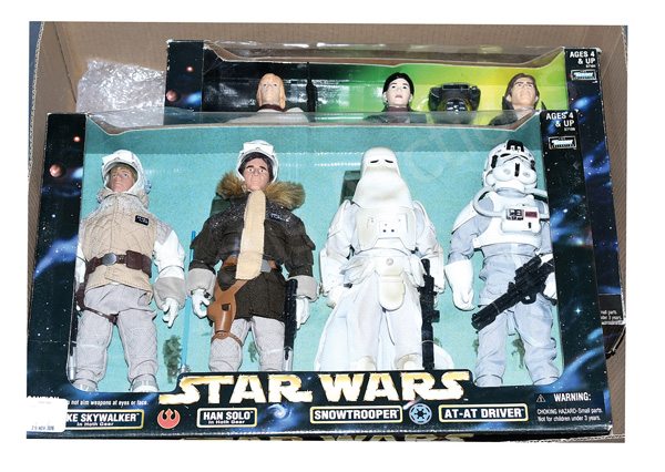 GRP inc Kenner Star Wars three large Action