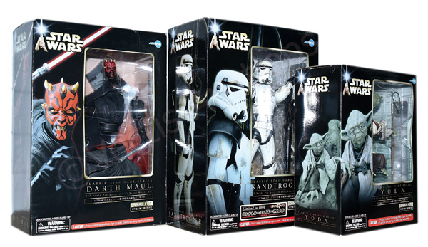 GRP inc Artfx Kotobukiya Star Wars trio Snap Fit