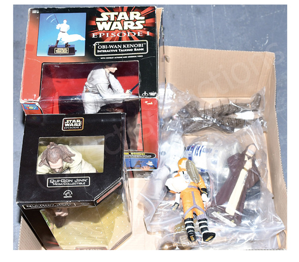 GRP inc Star Wars toys: (1) Think Way Episode I