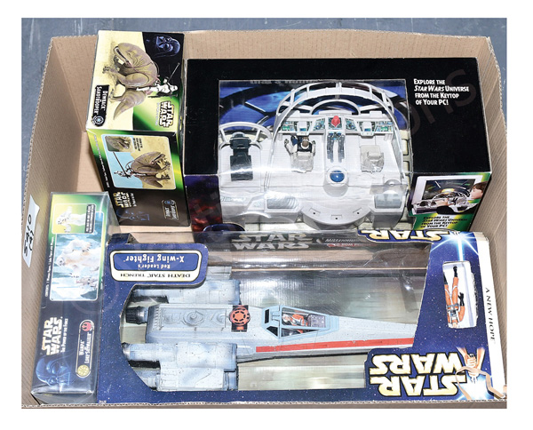 GRP inc Hasbro/Kenner Star Wars Toys: (1) Saga