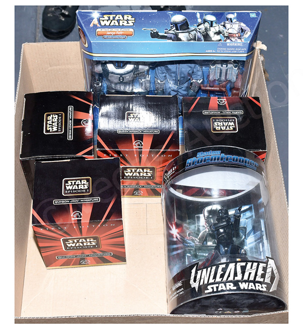 GRP inc Hasbro and Applause Star Wars