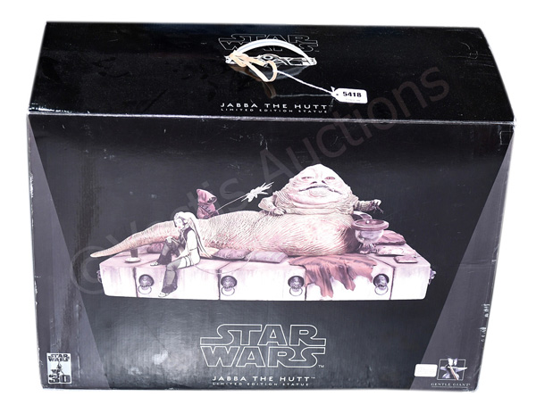 GRP inc Gentle Giant Star Wars Jabba the Hutt