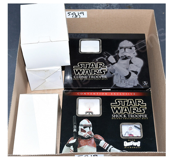 GRP inc Gentle Giant Star Wars Collectible Busts
