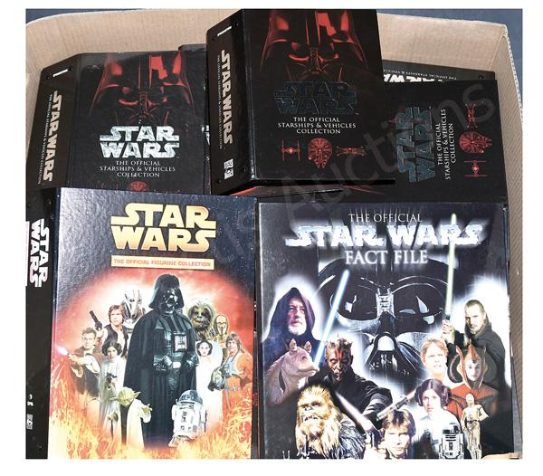 QTY inc DeAgostini Star Wars magazine part-works