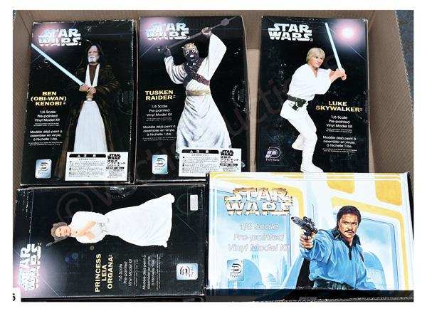 GRP inc Polydata Star Wars 1/6 scale pre-painted