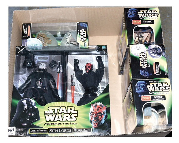 GRP inc Hasbro/Kenner Star Wars toys