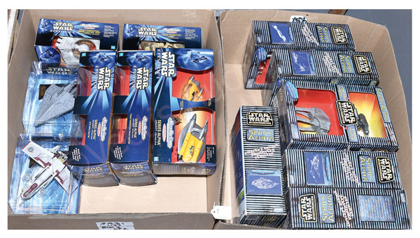 GRP inc Galoob/Hasbro Star Wars Micro Machines